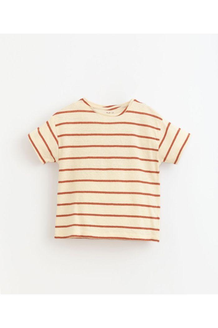 Play Up Striped Jersey T-Shirt Farm_1