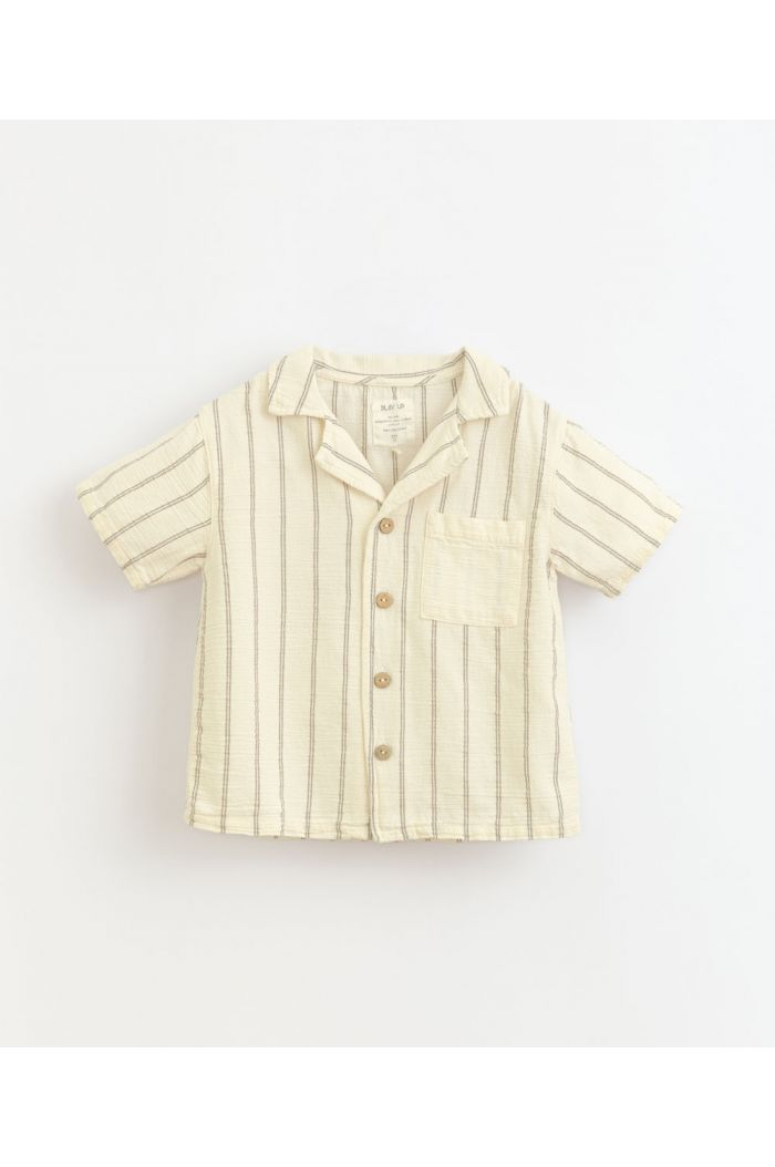 Play Up Striped Woven Shirt Dandelion_1