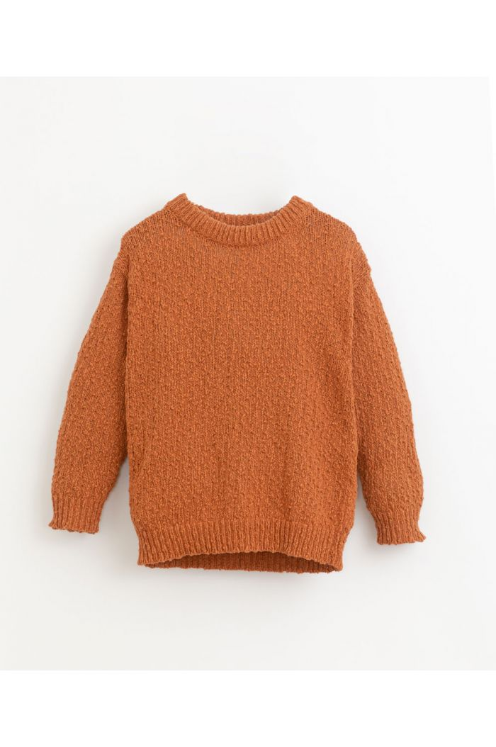 Play Up Knitted Sweater Anise_1