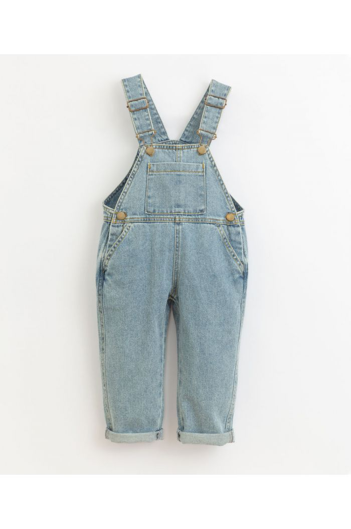 Play Up Denim Dungaree Kids Denim_1