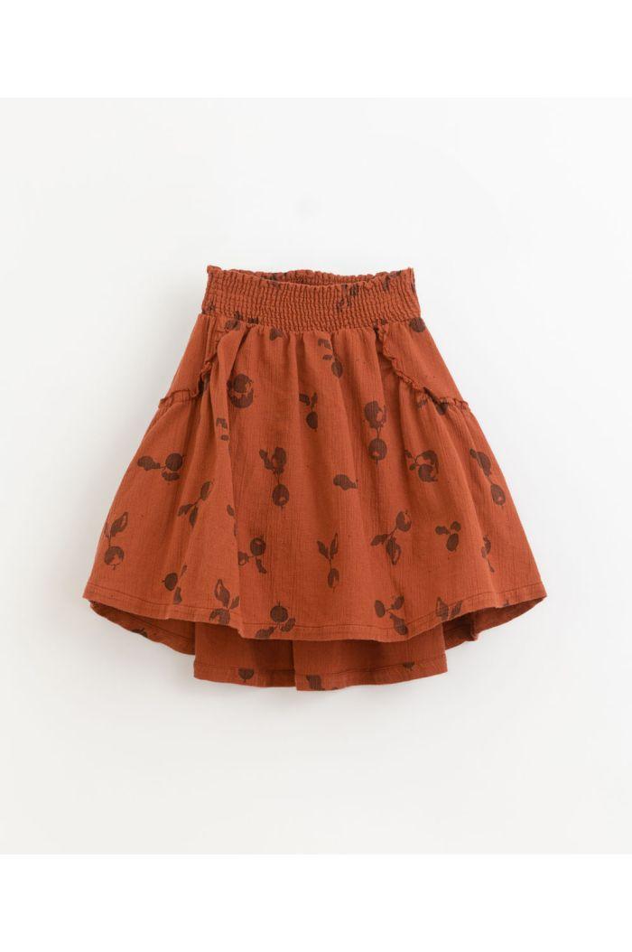 Play Up Woven Printed Skirt Farm_1