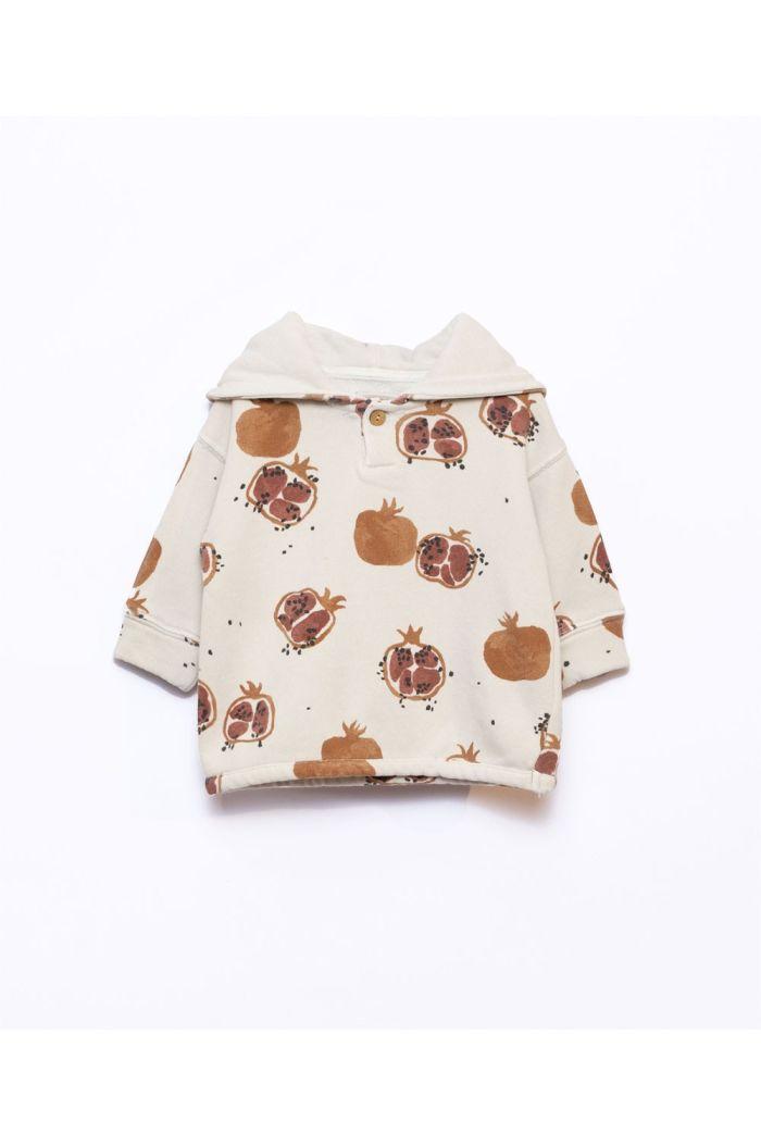 Play Up Printed Fleece Sweater Baby Miró_1