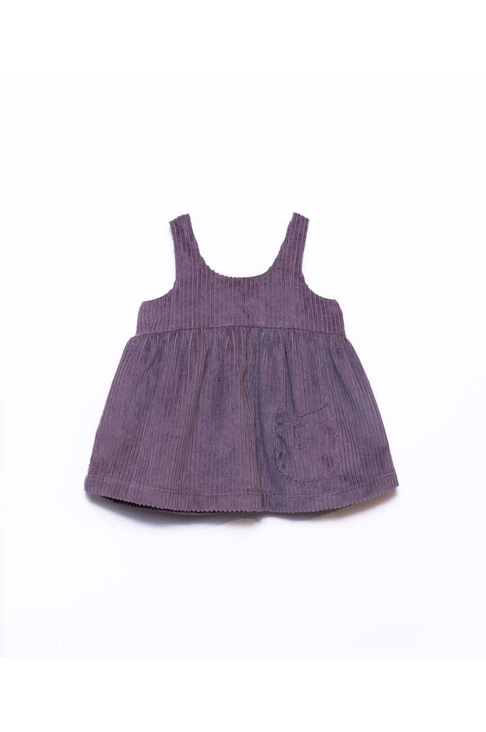 Play Up Corduroy Dress Lavander_1