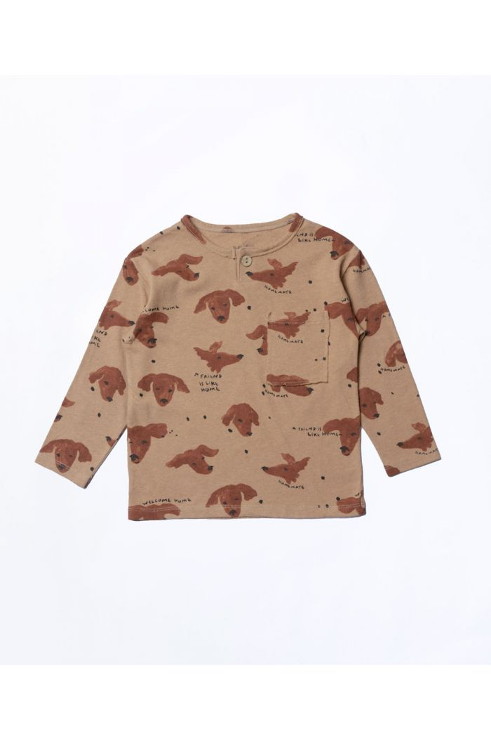 Play Up Printed Jersey T-Shirt Boys Paper