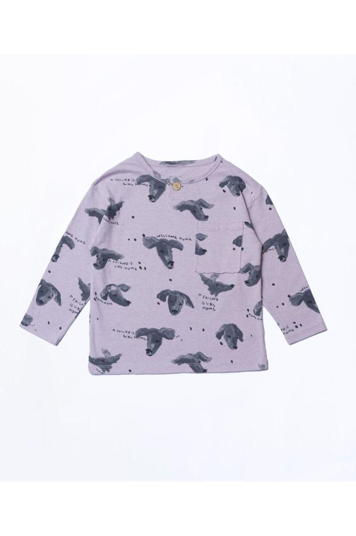 Play Up Printed Jersey T-Shirt Boys Violeta