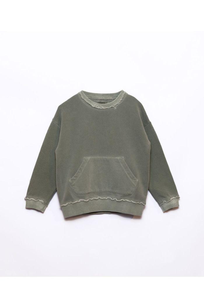 Play Up Fleece Sweater Avocado_1
