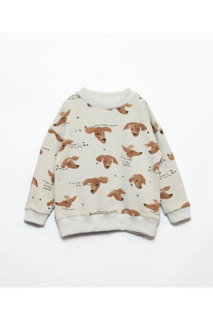 Play Up Printed Fleece Sweater Boys Miró_1