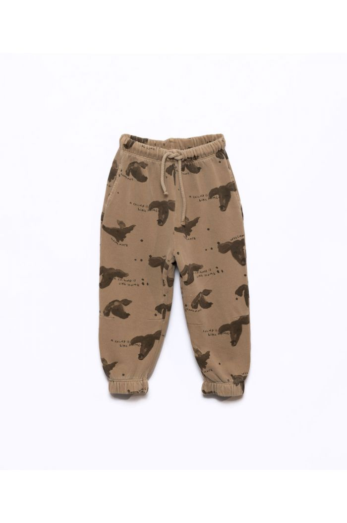 Play Up Printed Fleece Trousers Paper_1
