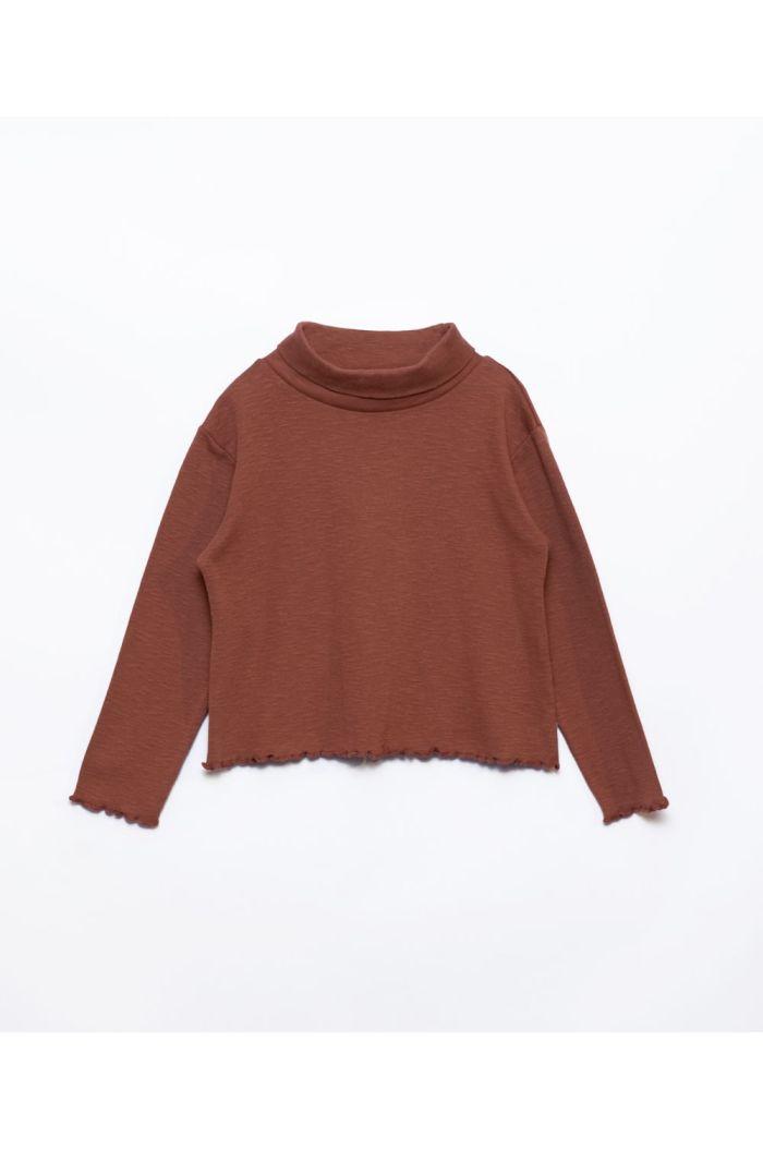Play Up Collar Flamé Rib Sweater Sanguine_1