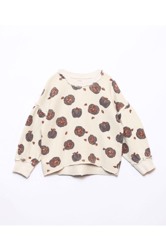 Play Up Printed Fleece Sweater Girls Miró_1