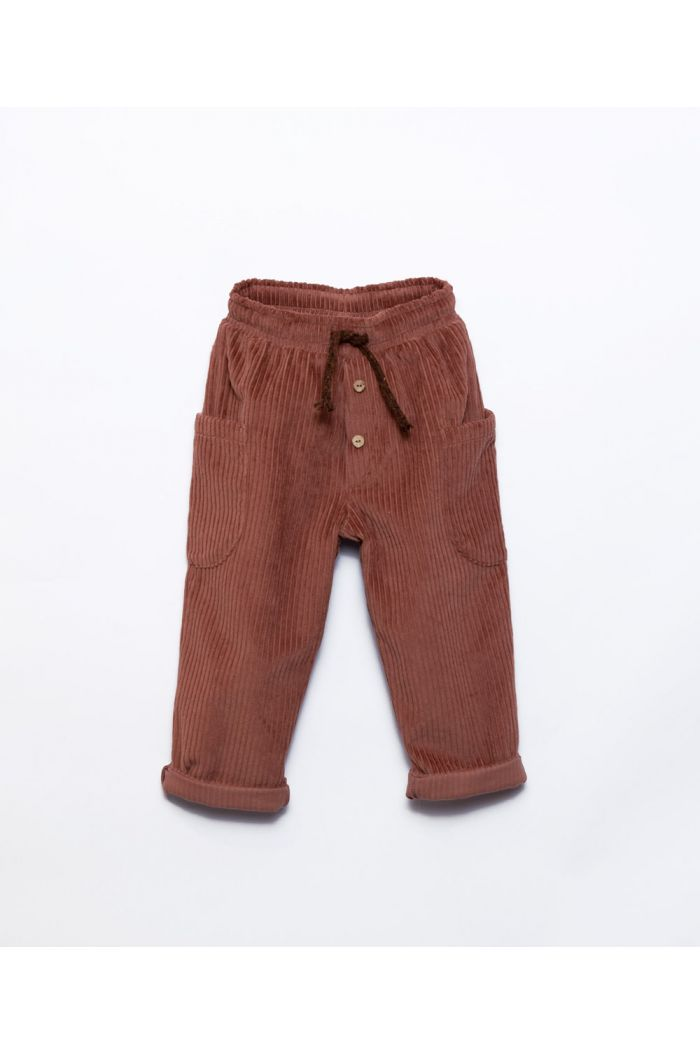 Play Up Corduroy Trousers Sanguine_1