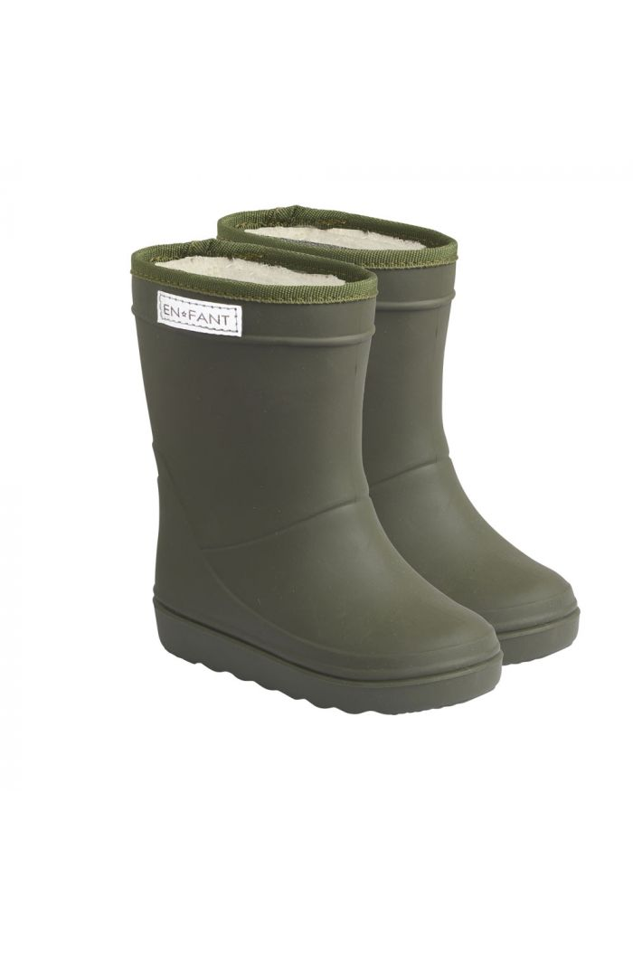 En Fant Thermo Boots Solid 9830 Dusty Olive_1