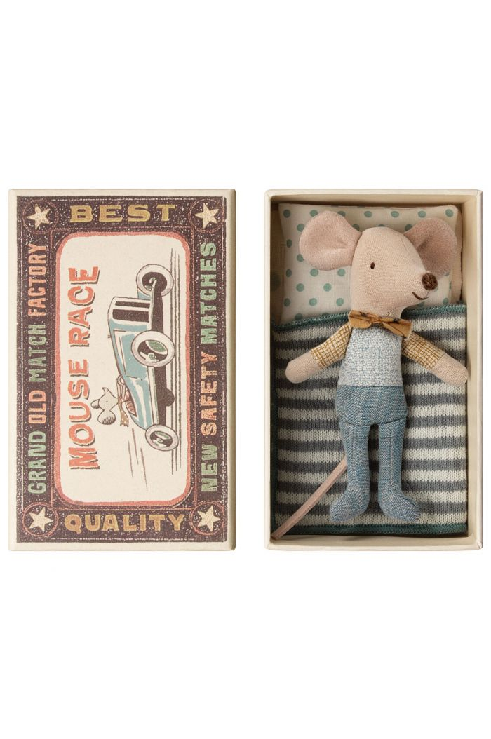 Maileg Little brother mouse in box _1