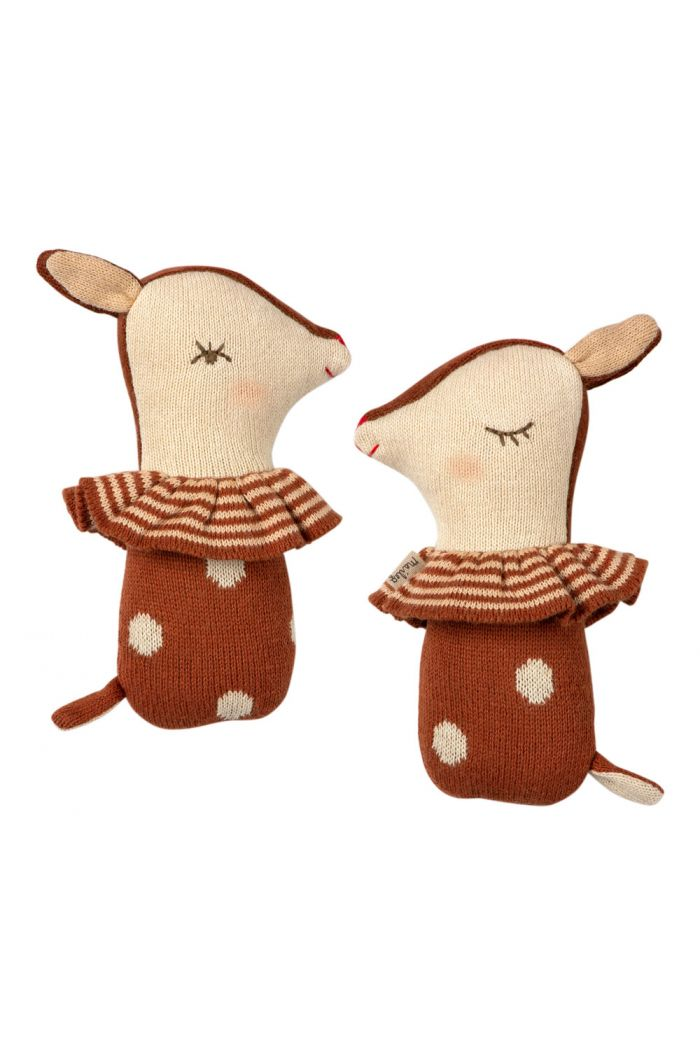 Maileg Bambi rattle - Rusty _1