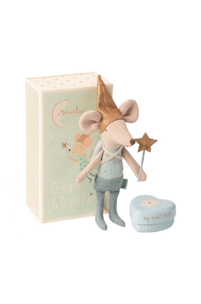 Maileg Tooth fairy mouse in matchbox, Big brother _1