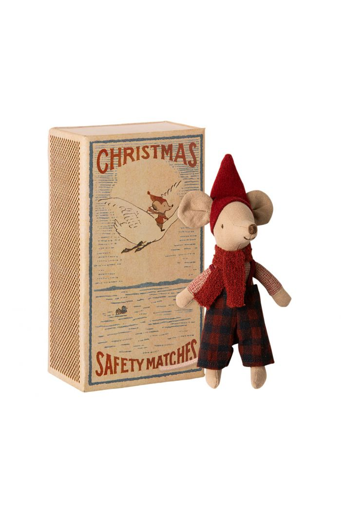 Maileg Christmas mouse in box - Big brother _1