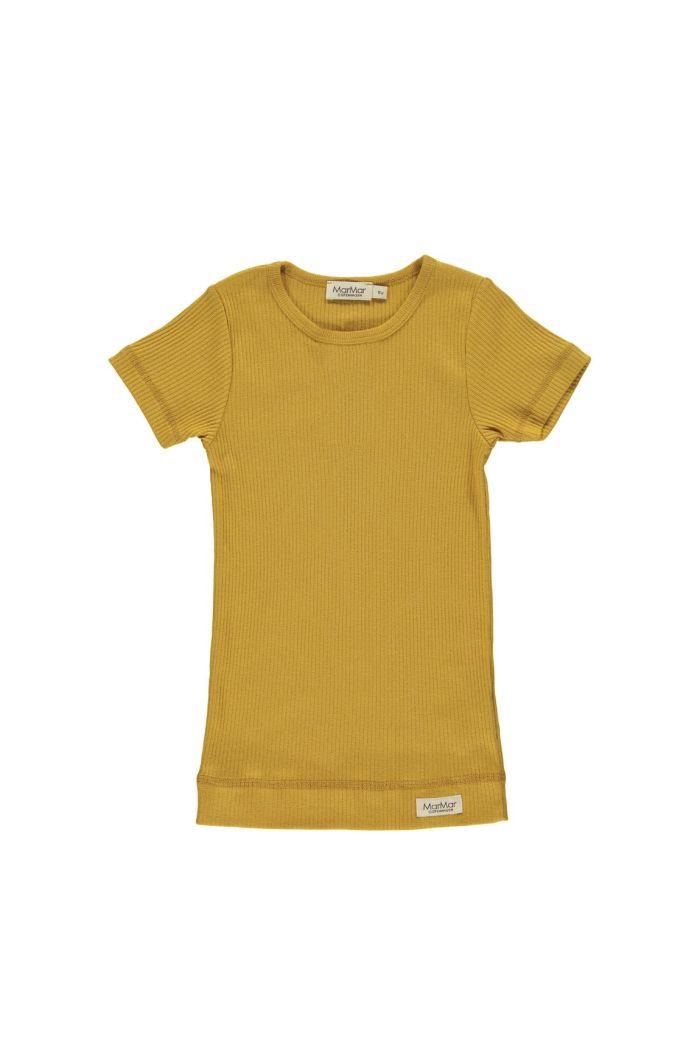 MarMar Cph Plain Tee Shortsleeve Modal Golden