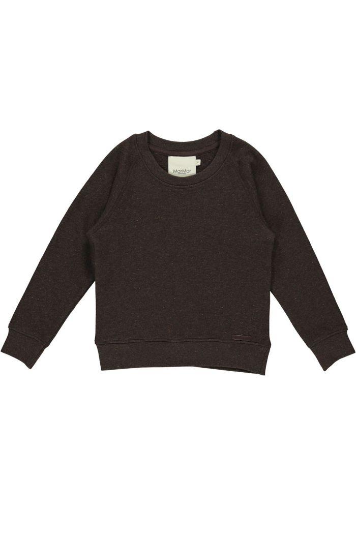 MarMar Cph Thadeus Shirt Dark Chocolate Nebs_1