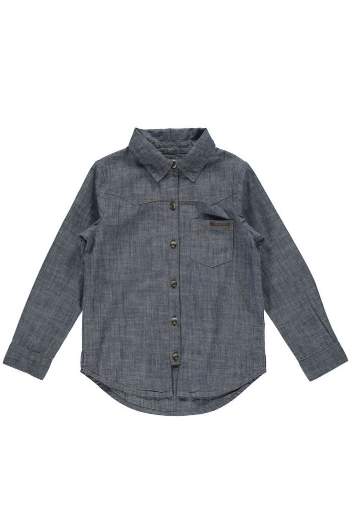 MarMar Cph Theo Shirt Denim Blue_1