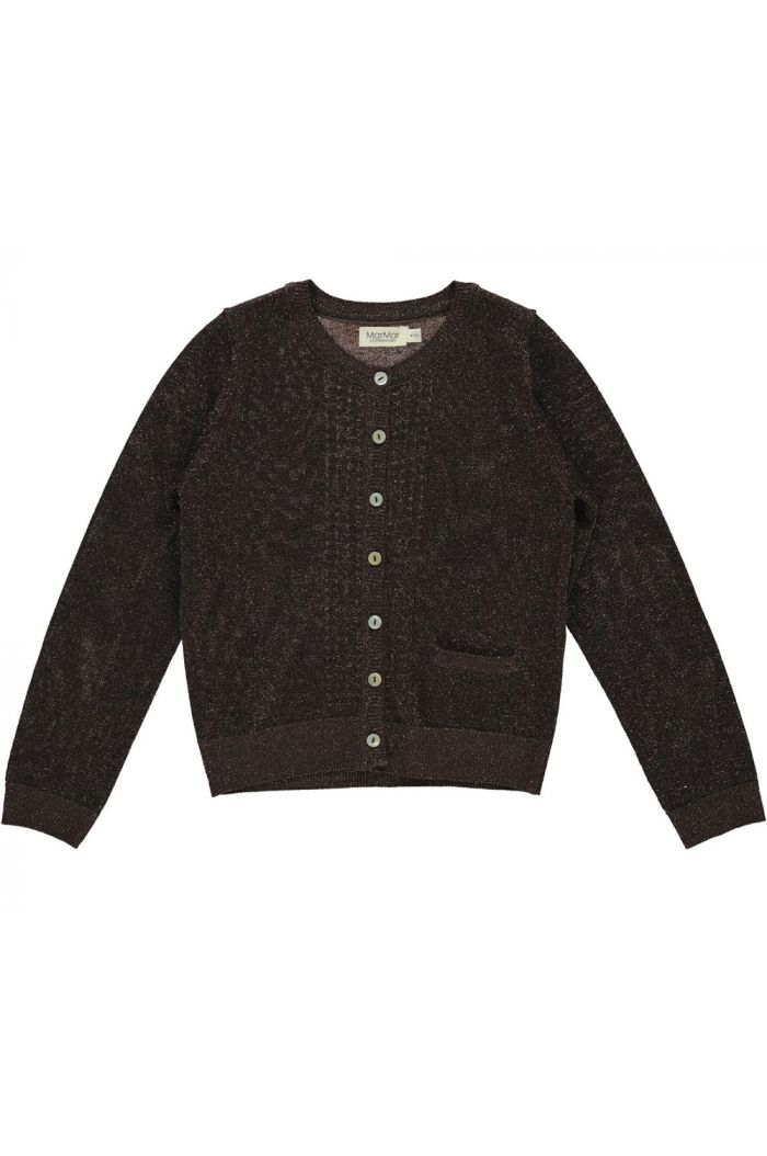 MarMar Cph Tilia Lurex Knit Chocolate_1