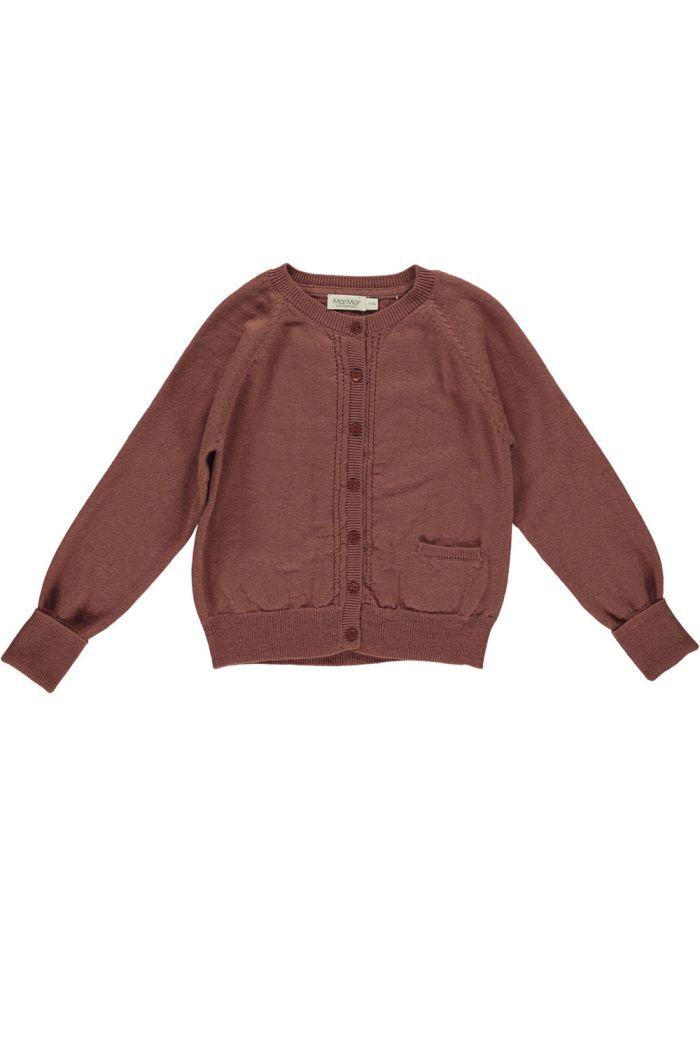 MarMar Cph Tillie Knitwear Dark Brick_1