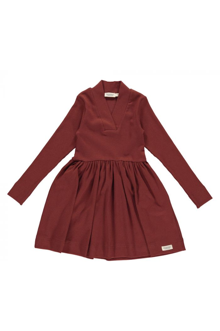 MarMar Cph Dress Modal Cranberry_1