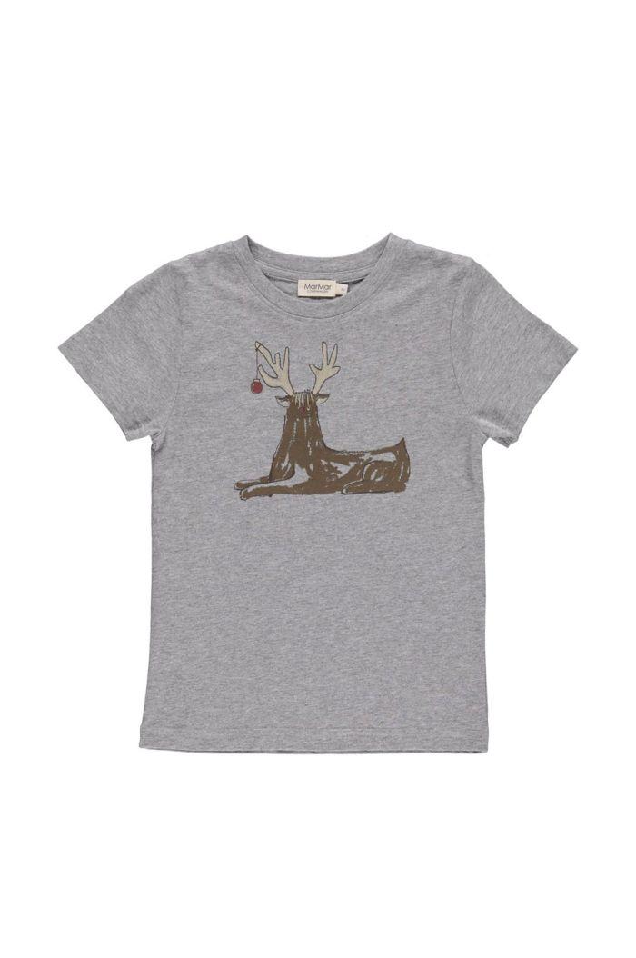 MarMar Cph Ted T-shirt Modal Fine Grey Melange_1
