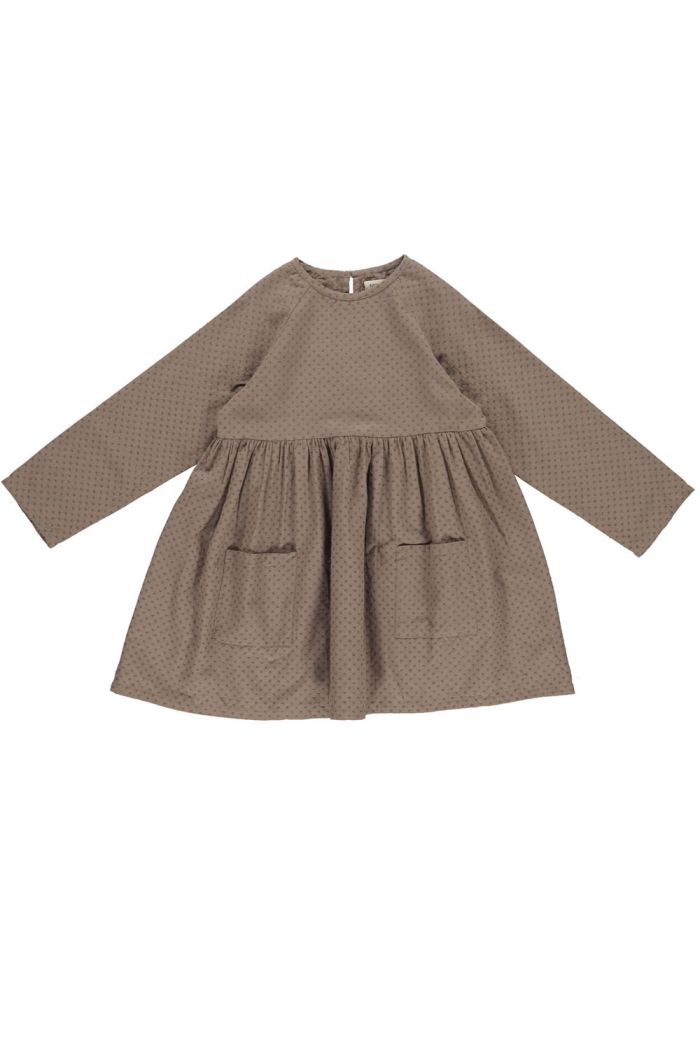 MarMar Cph Danina Longsleeve Dress Mouse_1