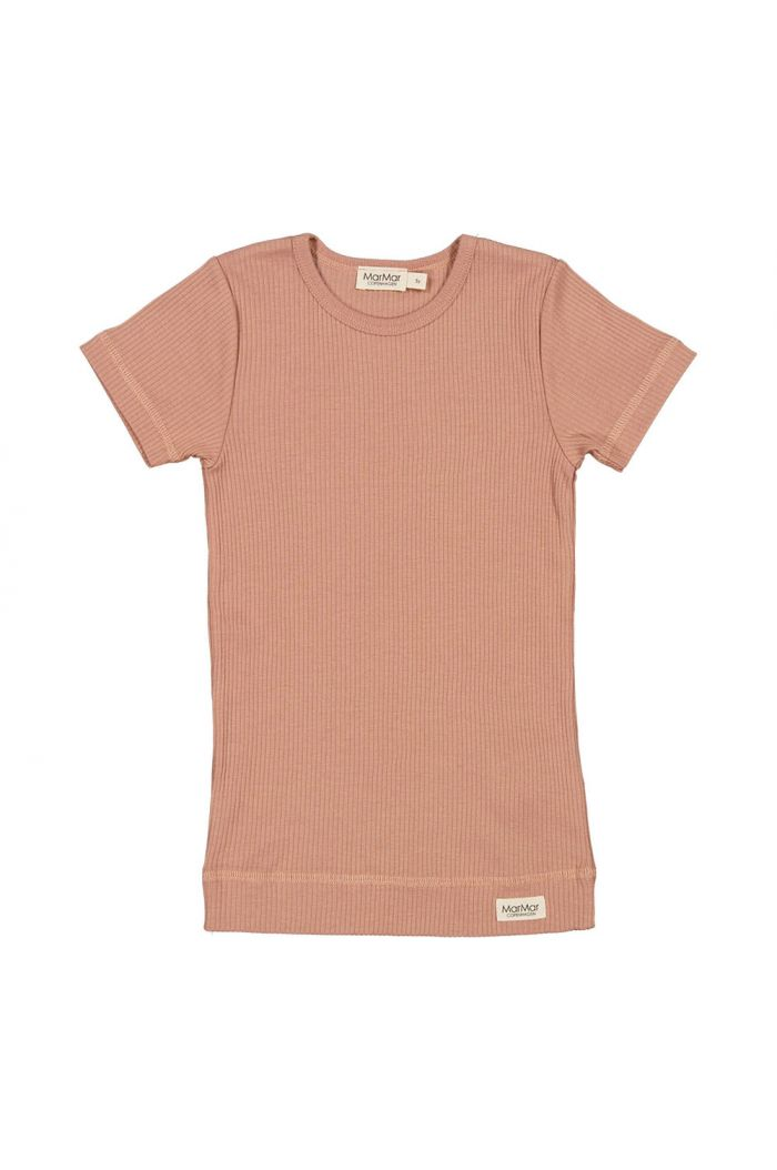 MarMar Cph Plain Tee Short sleeve Rose Brown_1