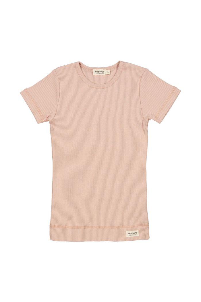 MarMar Cph Plain Tee Short sleeve Light Cheek_1