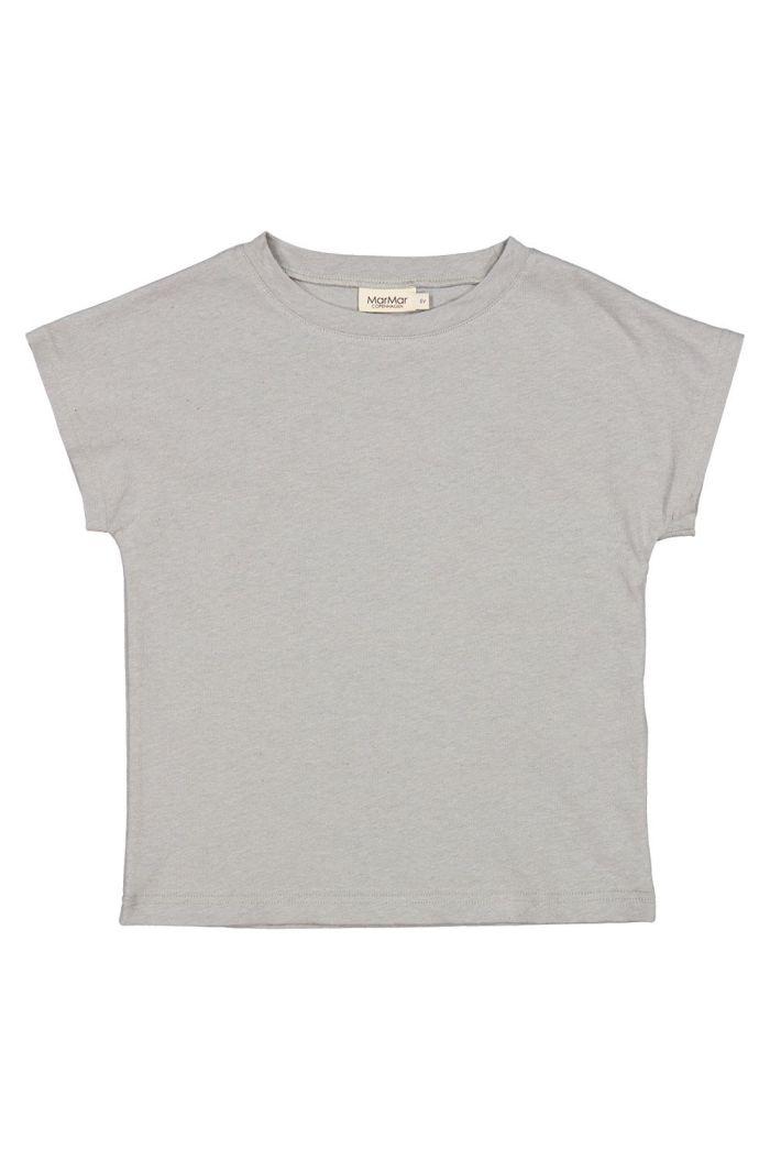 MarMar Cph Tove T-shirt Chalk Melange_1