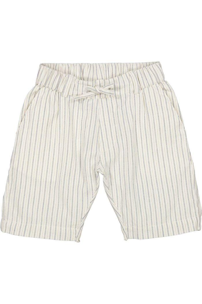 MarMar Cph Peter shorts White Sage Stripes_1