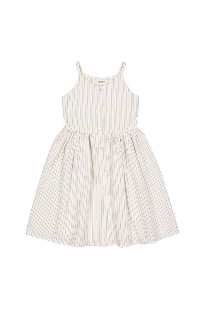 MarMar Cph Danine dress White Sage Stripes_1