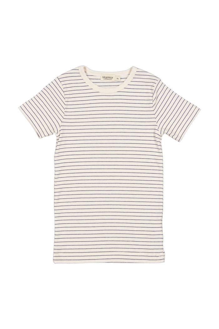 MarMar Cph Tago T-shirt Blue Stripe_1