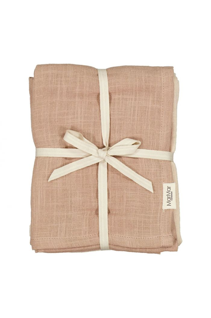 MarMar Cph Ada Swaddles  (2-pack) Rose Mix_1