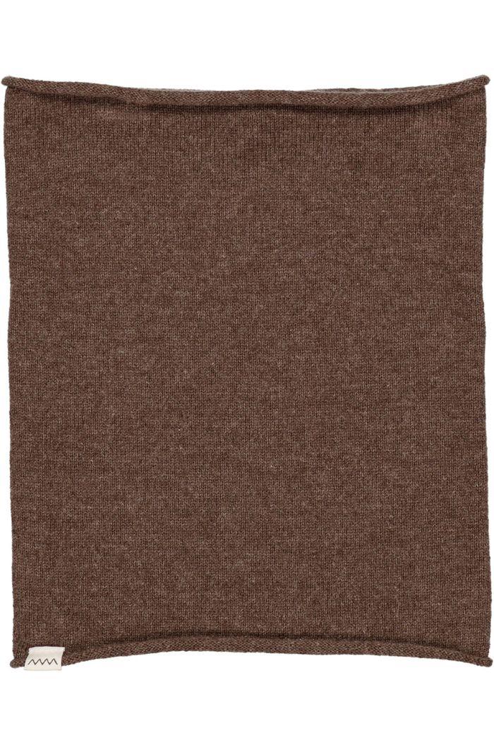 MarMar Cph Buff Blanket Cashmere Dark Brown Mel._1