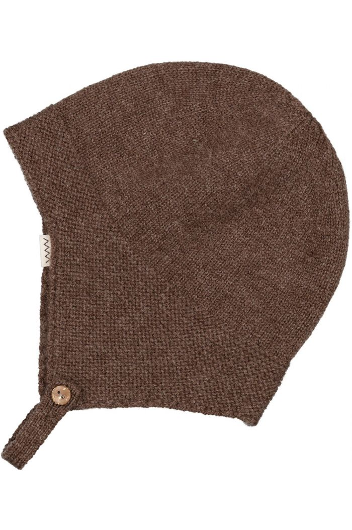 MarMar Cph Aly Hat Cashmere Dark Brown Mel._1