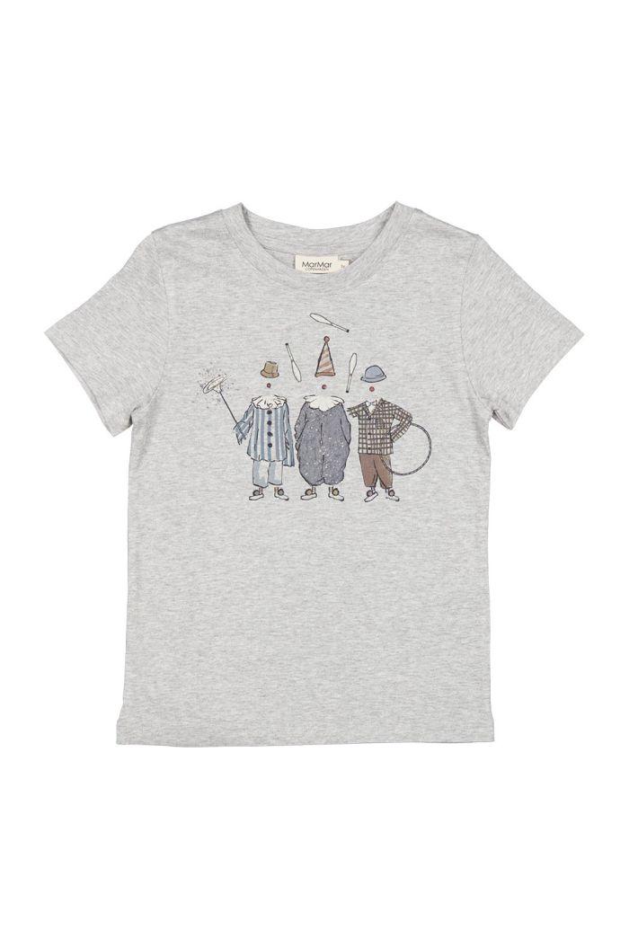 MarMar Cph Ted T-shirt Modal Grey Melange_1