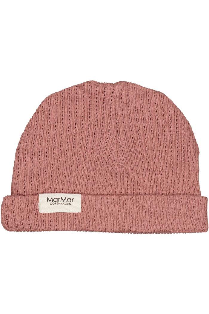 MarMar Cph Aiko Hat Modal Pointelle Rib Gooseberry Rose_1