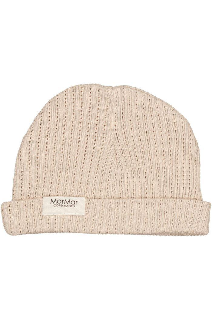 MarMar Cph Aiko Hat Modal Pointelle Rib Champagne_1