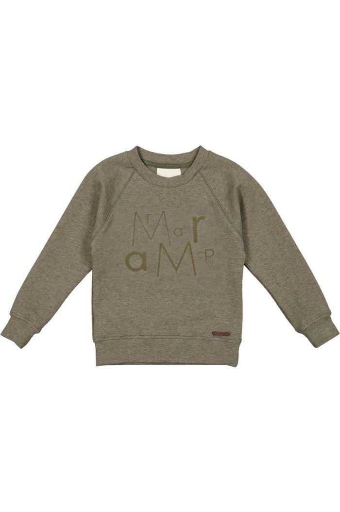 MarMar Cph Thadeus Sweater Dusty Olive Mel._1