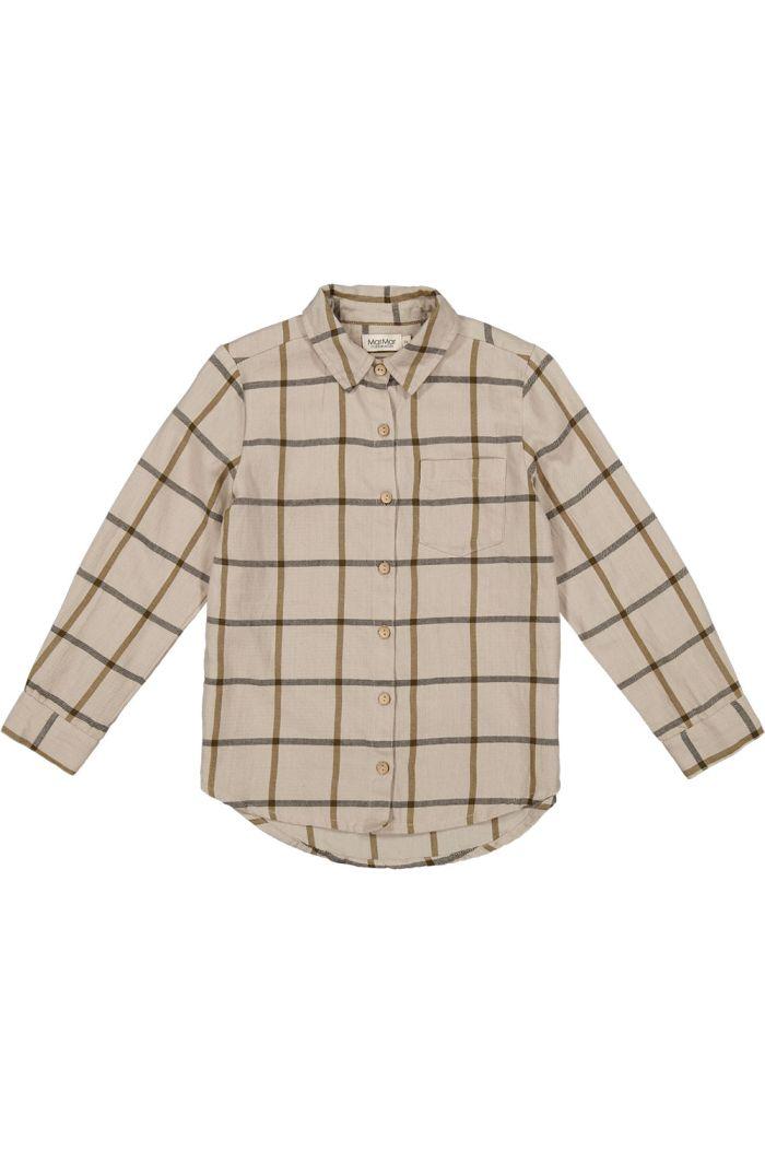MarMar Cph Tommy Shirt Llama Check_1
