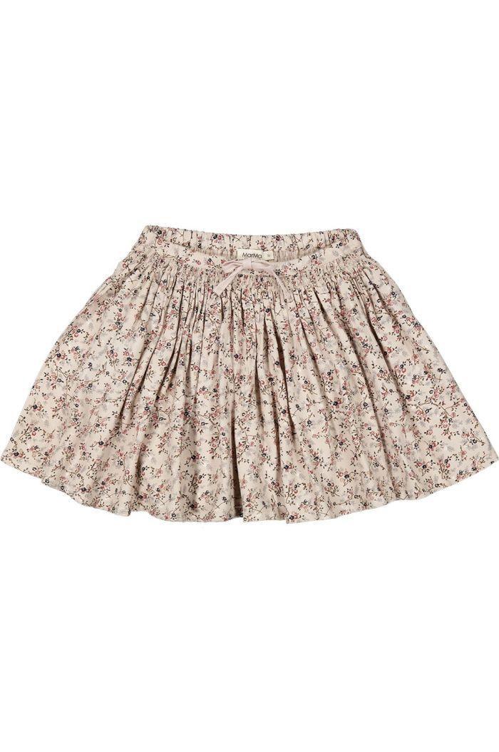 MarMar Cph Sille Skirt Viscose Twill Climbingrose_1