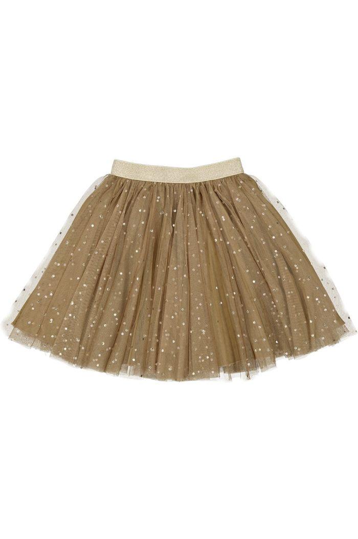 MarMar Cph Solo Sun Skirt Ballerina Dotty Dark Mustard_1