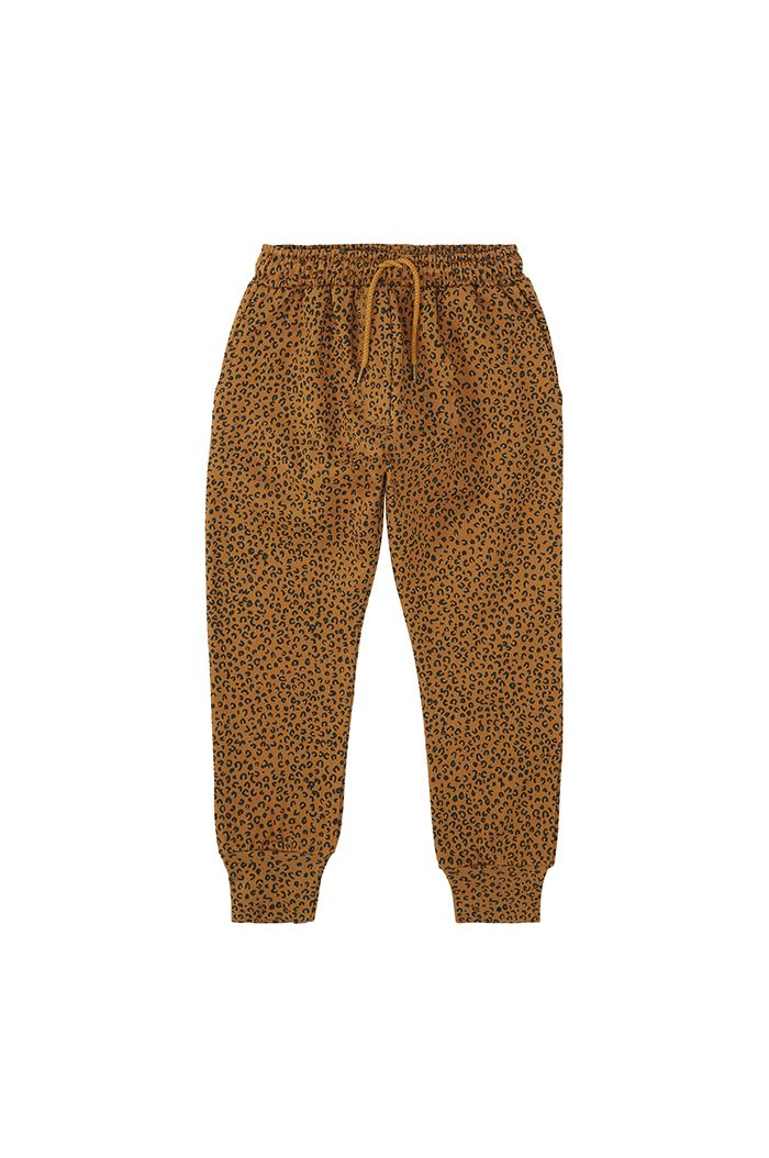 Soft Gallery Becket Pants Golden Brown, All-over print Leospot M_1