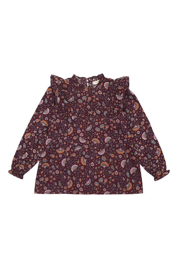 Soft Gallery Gaxine Shirt Port Royal, All-over print Flower_1