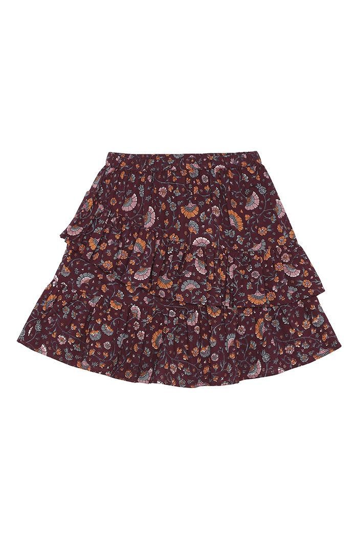 Soft Gallery Ginny Skirt Port Royal, All-over print Flower_1