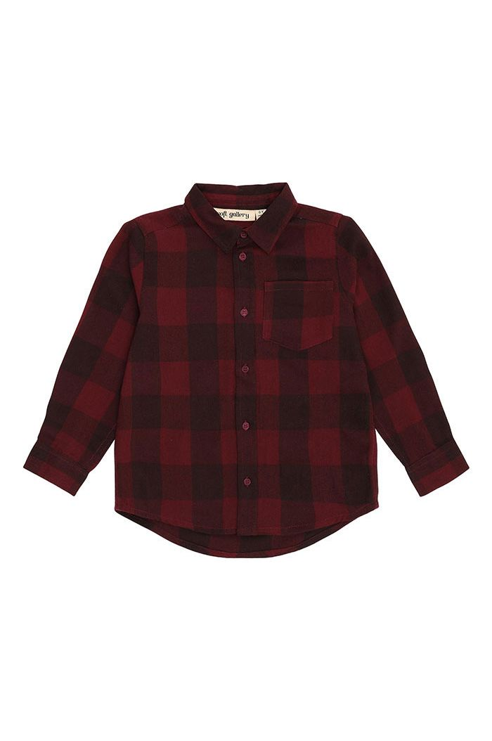 Soft Gallery Bentley Shirt Syrah Overdye_1