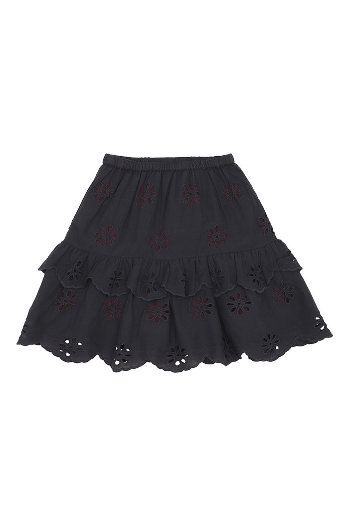 Soft Gallery Fern Skirt Anthracite_1