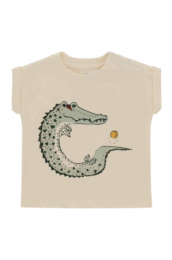 Soft Gallery Frederick T-shirt Powder Puff, Crocoball_1